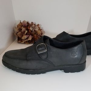 Timberland Leather Charcoal Gray Casual Shoes 8M